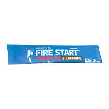Olimp Fire Start Energy Gel + Caffeine, żel w saszetce, 36g, smak tropikalny, 1 szt.