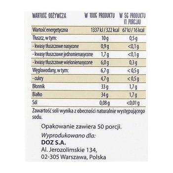 Plan by DOZ, Len mielony, złocisty, 250 g