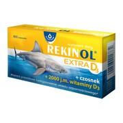 Rekinol Extra D3, kapsułki, 60 szt.