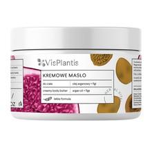 Vis Plantis, kremowe masło do ciała, odmładzające, olej arganowy + figi, 250 ml