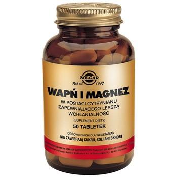 Solgar Wapń i Magnez, tabletki, 50 szt.