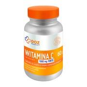 DOZ PRODUCT Witamina C 1000 mg Forte, tabletki do ssania, smak pomarańczowy, 60 szt.