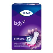 TENA Lady Maxi, night, wkładki, 12 szt.