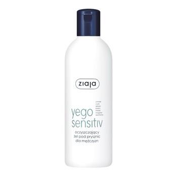 Ziaja Yego Sensitiv, oczyszczający żel pod prysznic dla mężczyzn, 300 ml