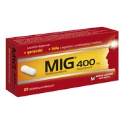 MIG, 400 mg, tabletki powlekane, 20 szt.