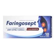 Faringosept, 10 mg, tabetki do ssania, 10 szt.