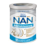 Mleko NAN Expert bezlaktozowy proszek, od urodzenia, 400 g