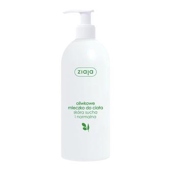Ziaja, naturalne oliwkowe mleczko do ciała, skóra sucha i normalna, 400 ml