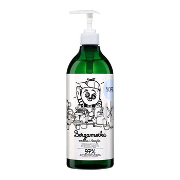 YOPE Bergamotka, Werbena, Bazylia, płyn do mycia naczyń, 750 ml