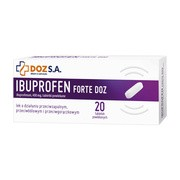 Ibuprofen Forte DOZ, 400 mg, tabletki powlekane, 20 szt.