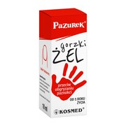 Kosmed Pazurek, gorzki żel przeciw obgryzaniu paznokci, 10 ml