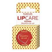 FlosLek Laboratorium Lip Care, wazelina kosmetyczna do ust, różana, 15 ml