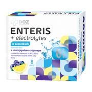 DOZ PRODUCT Enteris + electrolytes, proszek w saszetkach, 8 szt. A + 8 szt. B