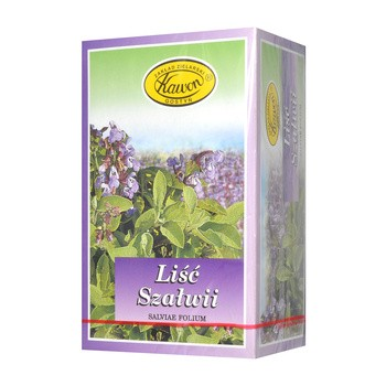 Liść Szałwii, zioła do zaparzania, 1,5 g, 30 szt. (Kawon)