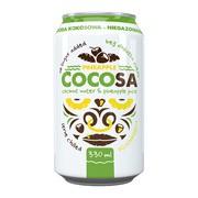 Diet-Food, Woda kokosowa niegazowana z sokiem z ananasa, 330 ml