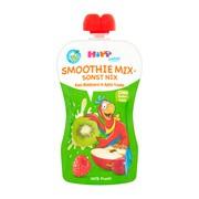 HiPP Smoothie Mix, jabłka, winogrona, kiwi, maliny, po 1. roku życia, 120 ml