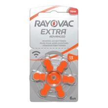 Bateria Rayovac Extra Advance 13, do aparatu słuchowego, 6 szt.