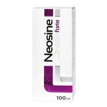 Neosine forte, 500 mg/5 ml, syrop, 100 ml