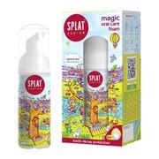 Splat Junior Magic Foam 2w1 Calcium & Lactic Enzymes, pianka do pielęgnacji jamy ustnej, 50 ml