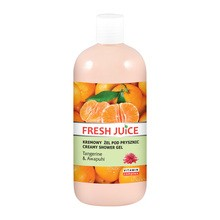 Fresh Juice Tangerine & Awapuhi, żel pod prysznic, 500 ml