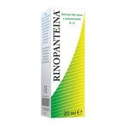 Rinopanteina, aerozol do nosa, 20 ml