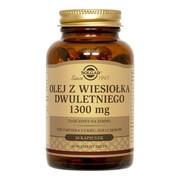 Solgar Olej z wiesiołka dwuletniego, 1300 mg, kapsułki, 30 szt.