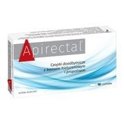 Apirectal, czopki doodbytnicze, z kwasem hialuronowym i propolisem, 10 szt.