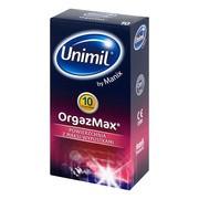 Unimil OrgazMax, prezerwatywy lateksowe, 10 szt.