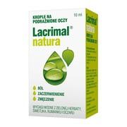 Lacrimal natura, krople do oczu, 10 ml