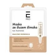 Enilome Pro, maska ze śluzem ślimaka na tkaninie, 23 ml