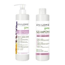 Zestaw Enilome Green Piękne Włosy bez wysiłku Ochrona koloru i blask