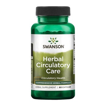 Swanson Full Spectrum Herbal Circulatory Care, kapsułki, 60 szt.