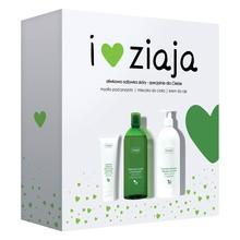 Zestaw Promocyjny Ziaja Oliwkowa, mleczko do ciała, 400 ml + mydło pod prysznic, 500 ml + krem do rąk, 80 ml