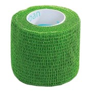 StokBan bandaż elastyczny, samoprzylepny, 4,5 m x 2,5 cm, Green Grass, 1 szt.