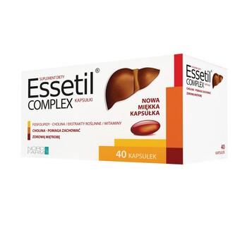 Essetil complex, kapsułki miękkie, 40 szt.