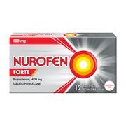 Nurofen Forte, 400 mg, tabletki powlekane, 12 szt.