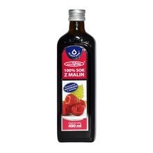 MalinaVital, sok z malin 100%, 490 ml