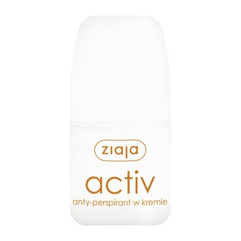 Ziaja Activ, antyperspirant w kremie, roll-on, 60 ml