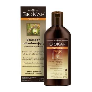 Biokap Nutricolor, szampon odbudowujący, włosy farbowane i po trwałej ondulacji, 200 ml