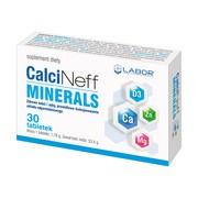 CalciNeff Minerals, tabletki, 30 szt.