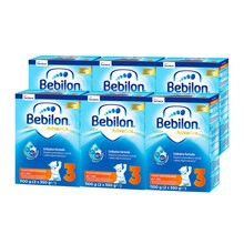 Zestaw 6x Bebilon 3 Pronutra-Advance, mleko modyfikowane, proszek, 1100 g