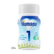 Humana 1, mleko początkowe w płynie, 24 x 90 ml