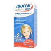 Ibufen dla dzieci forte o smaku truskawkowym, (200mg/5ml), zawiesina doustna, 100 ml