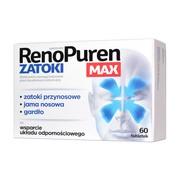 RenoPuren Zatoki MAX, tabletki, 60 szt.