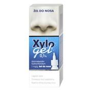 Xylogel, 0,1%, żel do nosa w butelce z dozownikiem, 10 g