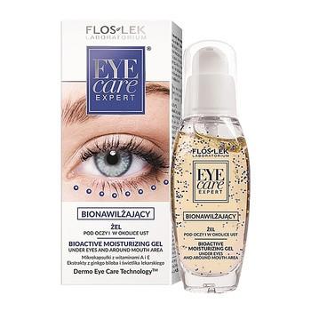 FlosLek Laboratorium Eye Care, żel bionawilżający pod oczy i w okolice ust, 30 ml