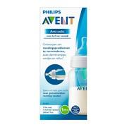 Avent Anti-colic, butelka do karmienia z nakładką AirFree, 260 ml, 1 szt.