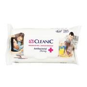 Cleanic Antibacterial Family, chusteczki odświeżające, 60 szt.