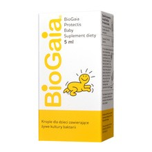 BioGaia probiotyczne krople dla dzieci, 5 ml