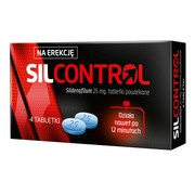 Silcontrol, 25 mg, tabletki powlekane, 4 szt.